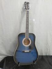 041- Esteban Blue/Black Acoustic Guitar