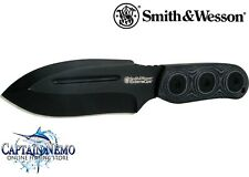 SMITH & WESSON EXTREME OPS FIXED BLADE SURVIVAL FIELD KNIFE SWAT MILITARY SWEXT