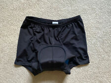 Ohuhu Women's Padded Bike Shorts Comfort Cycling Liner Excellent Sz L