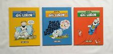 Lot BD - Gai Luron 1 2 3 / 1997 / GOTLIB / FLUDE JUNIOR