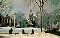 Vintage Postcard - Campus Pic University Of Massachusetts In Amherst #1555