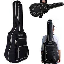 """Gitarrentasche Westerngitarre Tasche Gigbag wasserdicht Guitar Case 41"""" Schwarz"""
