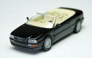 Audi Cabriolet - Modell Typ 89 Bj. 1991-2000, Black, Schabak-Modell 1:43, Boxed