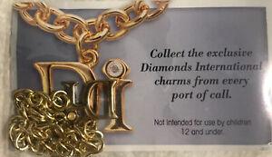 DIAMOND INTERNATIONAL CHARM BRACELET with DI