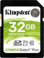 Kingston Canvas Select Plus R100 SDHC 32 GB, UHS-I U3, Class 10