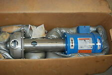 Goulds Pump, 2SR4E05E1, 1 HP, 3PH, 208-230/460V, 3,400RPM, Centrilfugal, NEW
