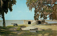 Postcard Fort Frederica, St. Simons Island, GA
