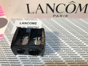 NEW LANCOME COSMETIC DOUBLE PENCIL SHARPENER