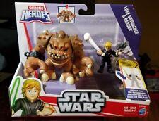 Star Wars Playskool Galactic Heroes Luke Skywalker & Rancor Return of Jedi