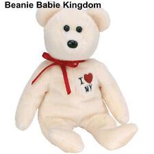 Ty Beanie Babie * N.y * i Love N.y New York Osito De Peluche Estado Excl-muy Raro