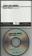Rilo Kiley JENNY & JOHNNY Scissor Runner PROMO DJ CD Single Johnathan Rice Lewis