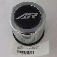 American Racing Wheel Center Cap Steel Chrome 1295002R 2.95' Push thru AR logo