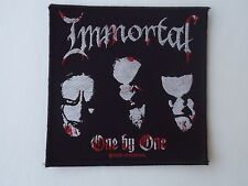 IMMORTAL ONE BY ONE WOVEN PATCH