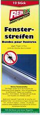 12x  Fliegenköder  Fliegenfänger unsichtbar geruchlos Fensterstreifen NEU- TOP!