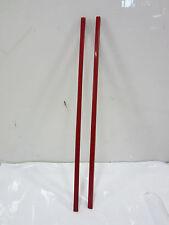 2 Vintage Red Bakelite Chopsticks