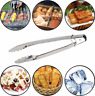Stainless Steel BBQ Grilling Tong Salad Bread Serving Non-Stick Kitchen Barbecue
