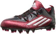 07ab5da23 adidas Crazyquick 2.0 Football Cleats S83663 Black Platinum Power Red Size  10
