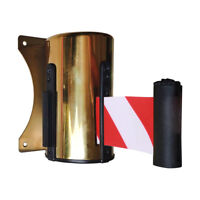 Retractable Barrier Belt Wall Mount Crowd Control Retractable Ribbon