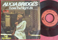 "Alicia Bridges / I Love The Nightlife / Self Applause 7"" Single Vinyl 1978"