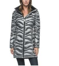New Womens Andrew Marc size S - Lightweight Packable Down Coat Granite silver