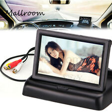 "4.3"" LCD Monitor Rückfahrkamera überwachen Auto Rückspiegel Backup Monitore GPS"