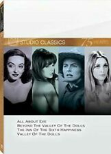 Studio Classics-Set 9-Fox Dvd-4-Disc-All About Eve-Valley of Dolls-Beyond Valley