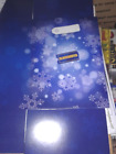 NEVER USED BLOCKBUSTER VIDEO STORE CHRISTMAS GIFT BOX FOR VHS TAPES DVD'S etc. !