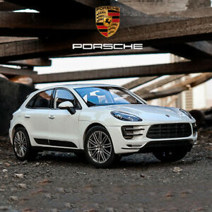 WELLY For Porsche MACAN Turbo 1:24 Static SUV Alloy Car Model Mens Gift no box