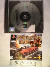 DESTRUCTION DERBY RAW PLAYSTATION 1 DESTRUCTION DERBY RAW PS1 PSONE PS2 PS3