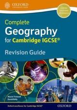 NEW! Geography for Cambridge IGCSE Revision Guide--free US shipping!