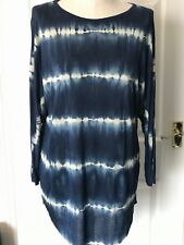Gorgeous Soft Dip Dye Rabens Saloner T Shirt  Blue X Small BNWT