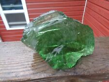 Glass Rock Slag Clear Green Swirl 3.12 lb Rocks Ss100 Landscaping Aquariu