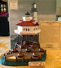 Harbor Lights Collectors Lighthouse Drum Point Light, Md