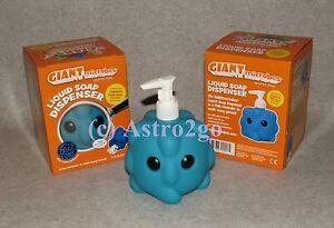 GIANT MICROBES LIQUID SOAP & SANITIZER DISPENSER-Common Cold Rhinovirus NEW!