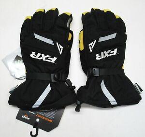 FXR Racing Black Backshift Gloves - SIZE: XXXX-LARGE