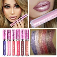 Iridescent Glitter Matte Liquid Lipstick Waterproof Beauty Makeup Lip Gloss NEW