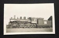 Antique CN Canadian National Railway Train Locomotive No. 1225 Photo Vancouver