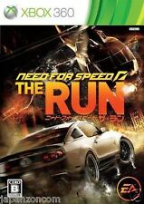 Used Xbox 360 Need for speed Run MICROSOFT JAPAN JP JAPANESE JAPONAIS IMPORT