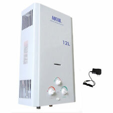AQUAH® 12L INDOOR LIQUID PROPANE GAS LPG TANKLESS WATER HEATER WHOLE HOUSE