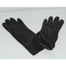 Gants noirs en cuir doublés Taille 6,5 S Très bon état