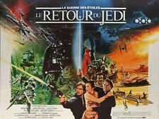 STAR WARS RETURN OF THE JEDI repro french poster 30x402 quad sized FREE P&P