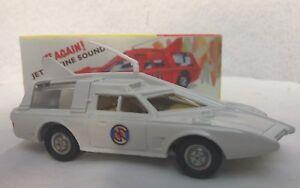 DINKY 103 CAPATAIN SCARLET  White  SPECTRUM PATROL CARS FULLY RETORED