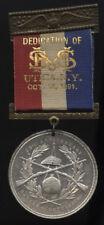 1891 UTICA, N.Y. ~ DEDICATION SOLDIERS & SAILORS MONUMENT