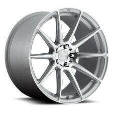 """(4) 18"""" Niche Wheels M146 Essen Silver Machined Rims(B41)"""