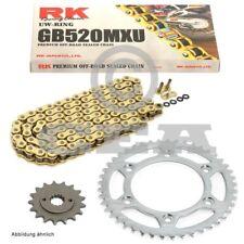 Kit de Cadena Polaris Blazer Trail 330 08-10, RK GB 520 MXU 78 , abierto, Oro