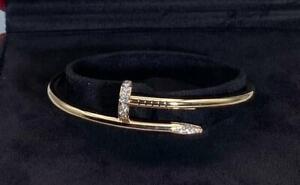 Cartier - Juste un Clou - Rose Gold - Diamonds - Size 18
