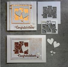 Easter Rabbit Metal Cutting Die Scrapbook Embossing Gif Stencil Card Making G8P2