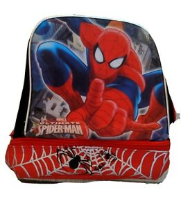 Spider-Man Ultimate Insulated Lunch Bag 2 compartments