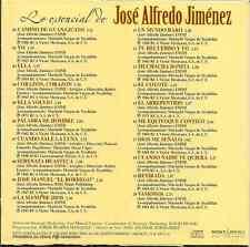 rare CD RANCHERAS Jose Alfredo Jimenez CUANDO SALE LA LUNA mano de Dios RETIRADA
