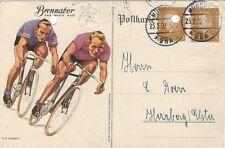 12/331 AK FAHRRAD BRENNABOR von MÜNCHEN nach HERZBERG 1932 gelocht
